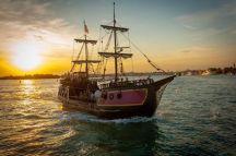 Venice galleon cruise