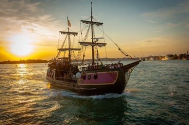 Venice galleon cruise