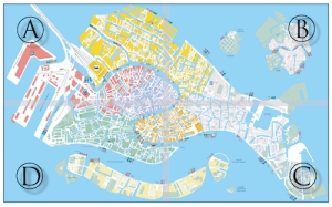 Pdf Map Of Italy.Download A Free Map Of Venice Venetian Life