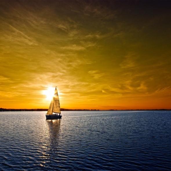 Venice sailing