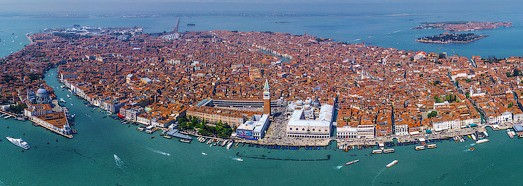 Venice from the sky